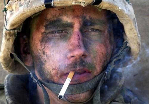 Marine Lance Cpl. James Blake Miller (Marlboro Marine) © Luis Sinco/Los Angeles Times