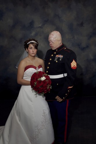 Marine Wedding, 2006; ©Nina Berman