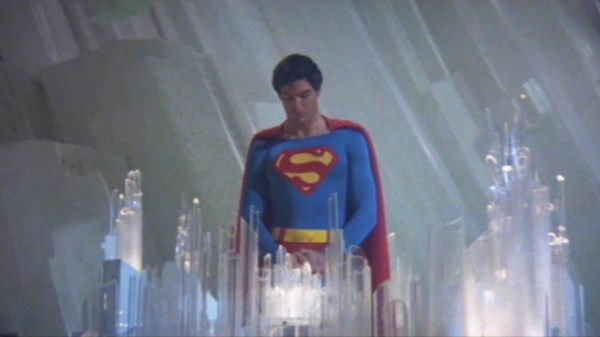 Superman in the Fortress of Solitude