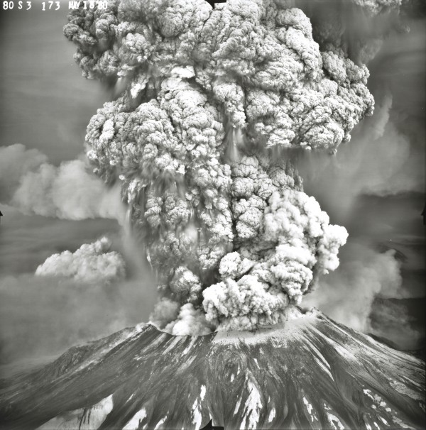 Unknown, Mt. St. Helens Eruption, May 18, 1980, 1980