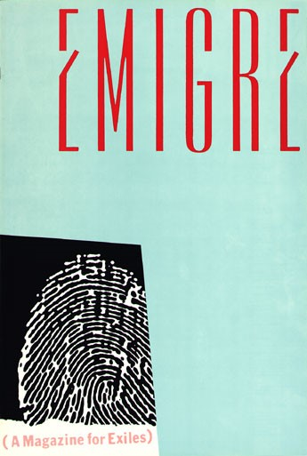 Emigre, Rudy VanderLans, Zuzana Licko, Emigre, no.1 (The Magazine That Ignores Boundaries), 1984