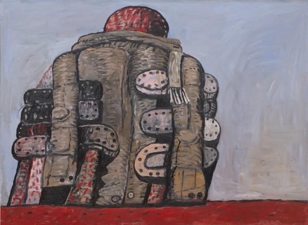 Philip Guston, Back View, 1977