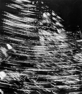 Fritz Henle, New York at Night--The RCA Building, the Night the Lights Came Back On, 1945