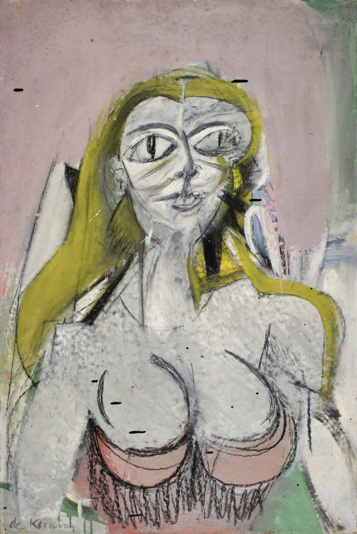 Willem de Kooning, Woman, 1950