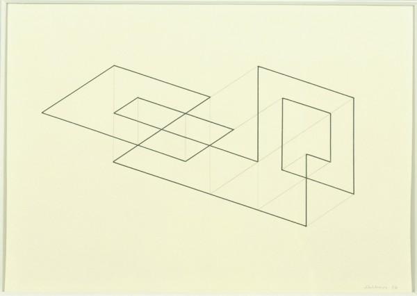 Josef Albers, Study for Tenayuca, 1936