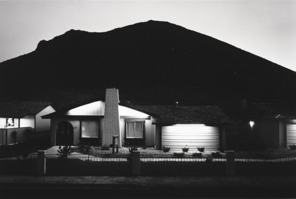 Lewis Baltz, Model Home, Shadow Mountain, from the Nevada portfolio, 1977