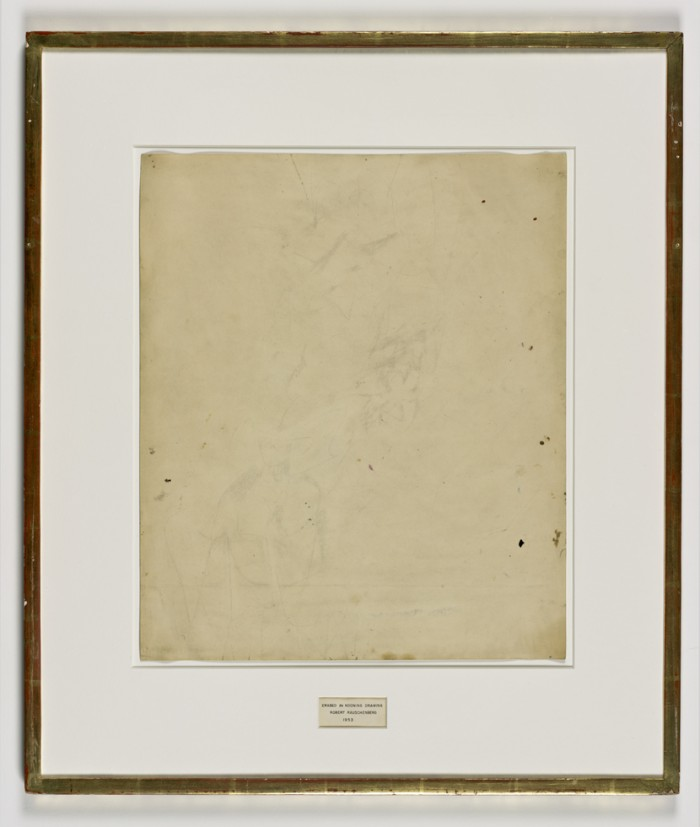 Who Owns Erased de Kooning Drawing?