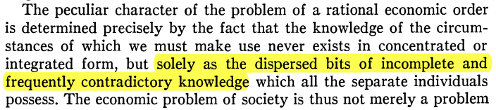 Hayek Quote 1