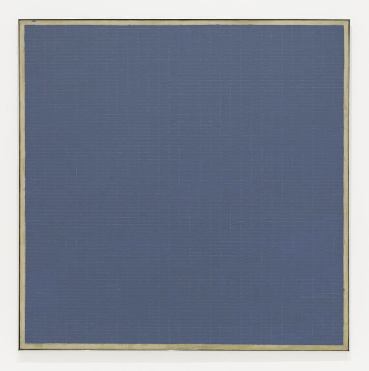 Agnes Martin, Night Sea, 1963