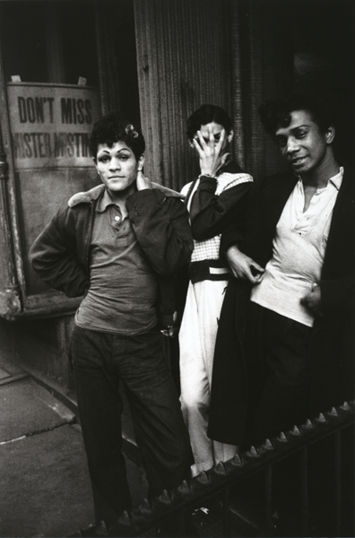 Robert Frank, New York City, from The Americans, 1955, printed 1977; gelatin silver print, 13 1/8 in. x 8 3/4 in. (33.34 cm x 22.23 cm); Collection SFMOMA, Gift of Dr. and Mrs. Barry S. Ramer; © Robert Frank