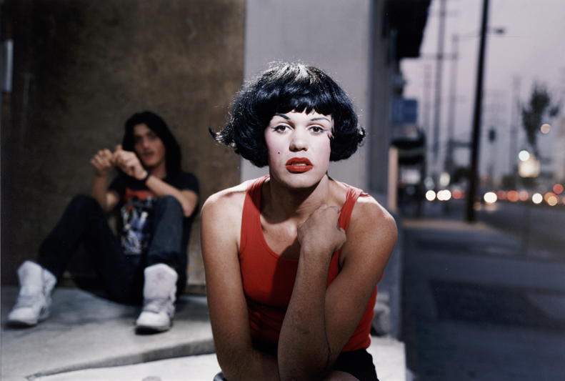 Philip-Lorca diCorcia, Marilyn, 28 years old, Las Vegas, Nevada $30, from the Hustlers series, 1990-1992; chromogenic print, 20 in. x 24 in. (50.8 cm x 60.96 cm); Collection SFMOMA, Gift of the artist; © Philip-Lorca diCorcia