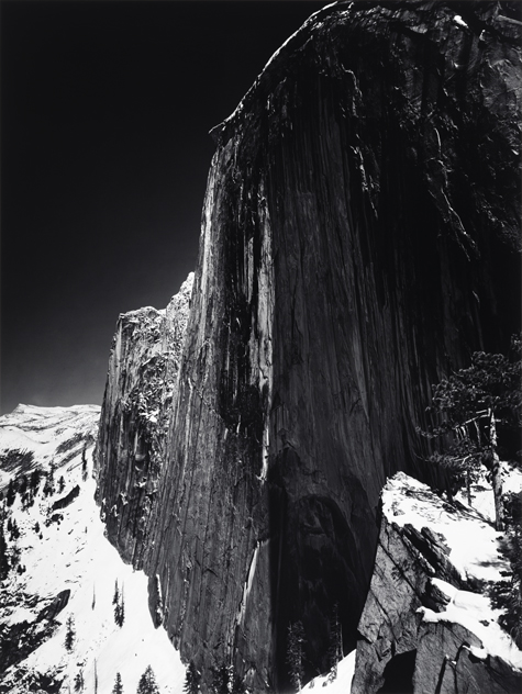 Ansel Adams, Half Dome, Thunder Cloud, from Portfolio Three: Yosemite Valley, ca. 1956