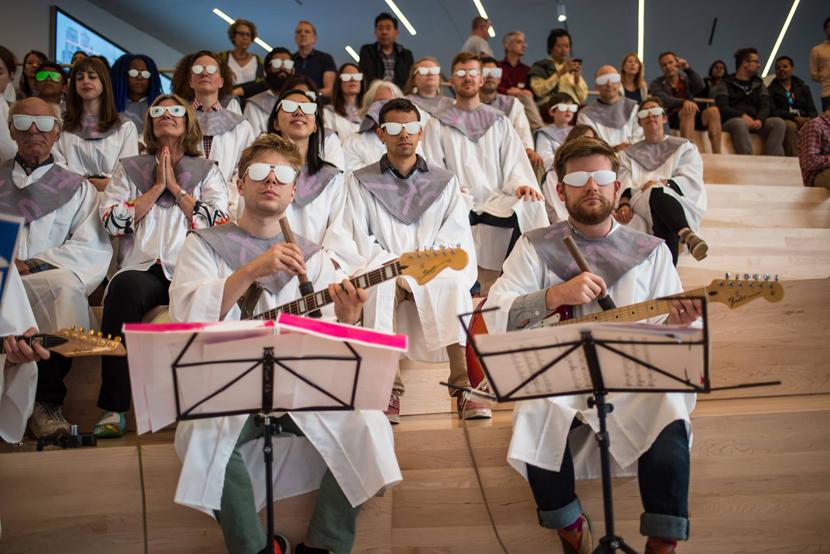 From A Paradise Choir. Image courtesy Chris Kallmyer.