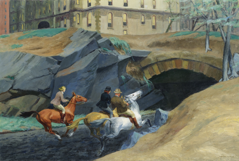 Edward Hopper, Bridle Path, 1939