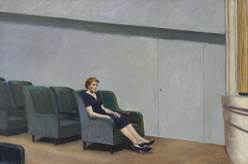 Edward Hopper, Intermission, 1963