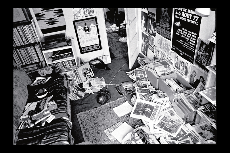 Search & Destroy's North Beach headquarters, 1977. Photo by Ruby Ray; courtesy Ruby Ray.