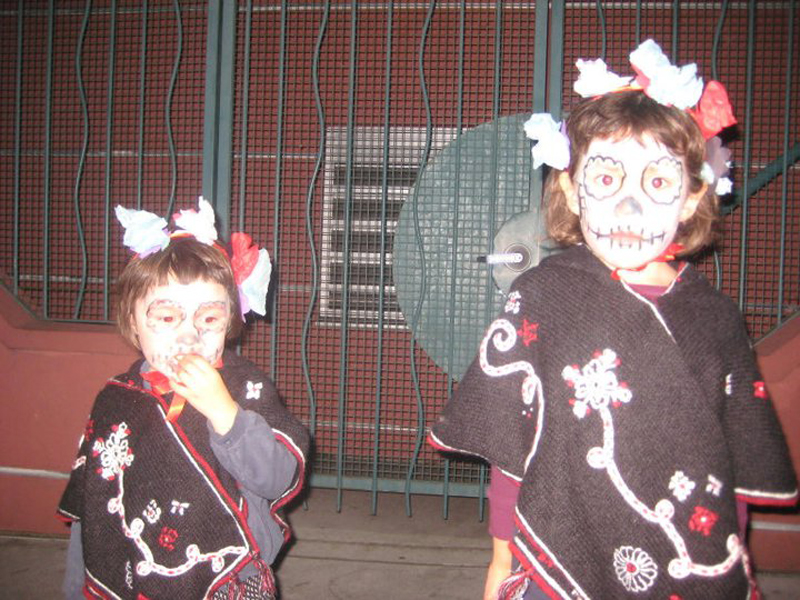 Día de los Muertos: A beautiful tradition in the Mission District, thanks to the Latino community that resides there.