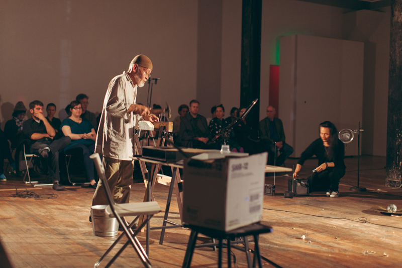 Akio Suzuki and Aki Onda: ke i te ki, September 16, 2015; The Lab, San Francisco. Photos: Tomo Saito.