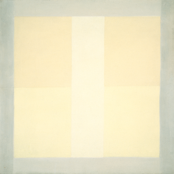 Agnes Martin, Wheat, 1957