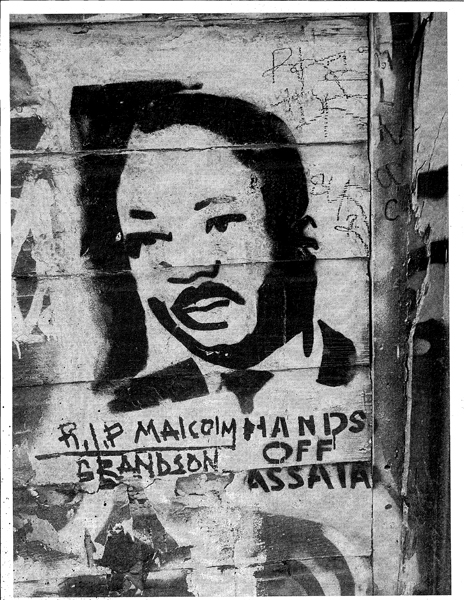<em>MLK in Clarion Alley</em>. Photo credit: David Petrelli.