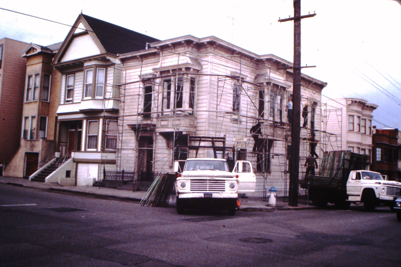 500 Capp Street exterior, c.1975; image courtesy of The 500 Capp Street Foundation.