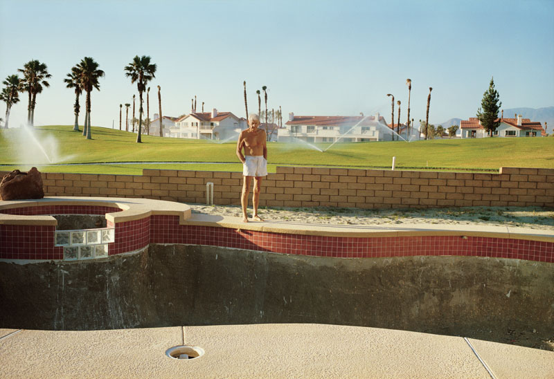 Larry Sultan, Empty Pool, 1991. Courtesy The Estate of Larry Sultan and Casemore Kirkeby.