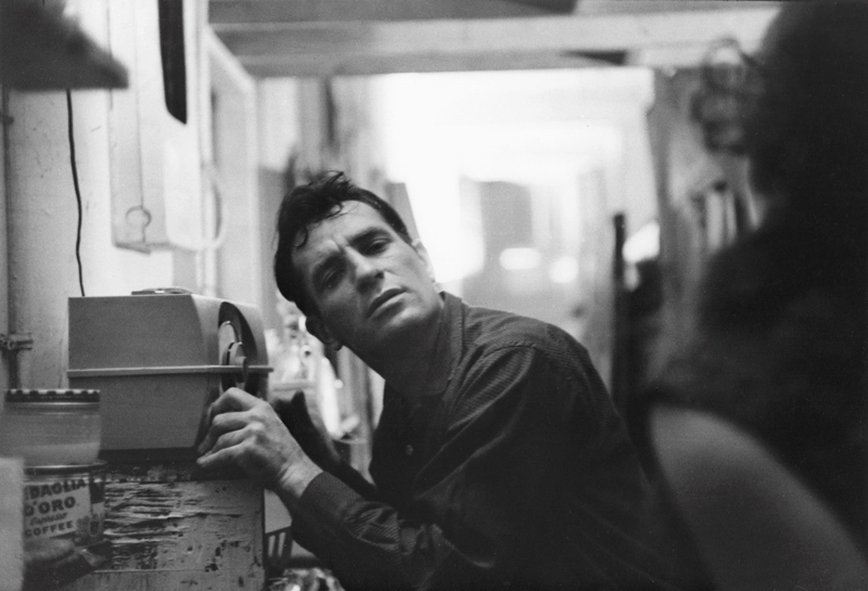 Jack Kerouac. Photo by John Cohen.