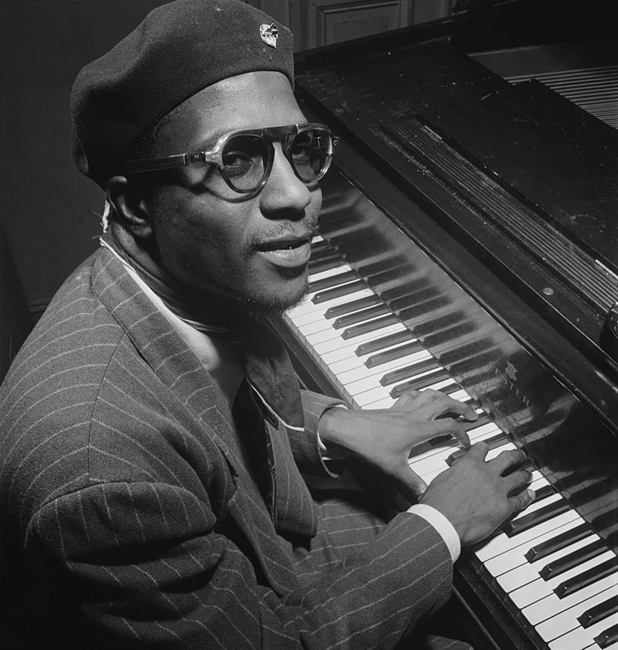 Thelonious Monk. Photo by William Gottlieb.