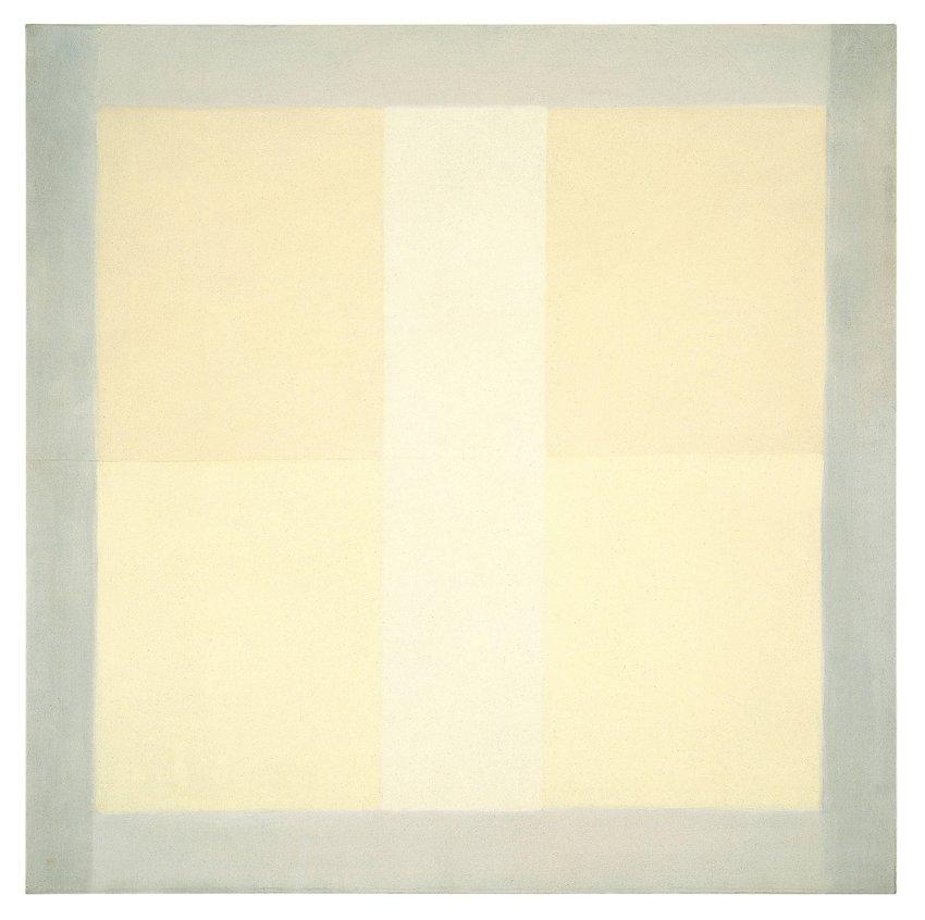 Agnes Martin, <em>Wheat</em>, 1957
