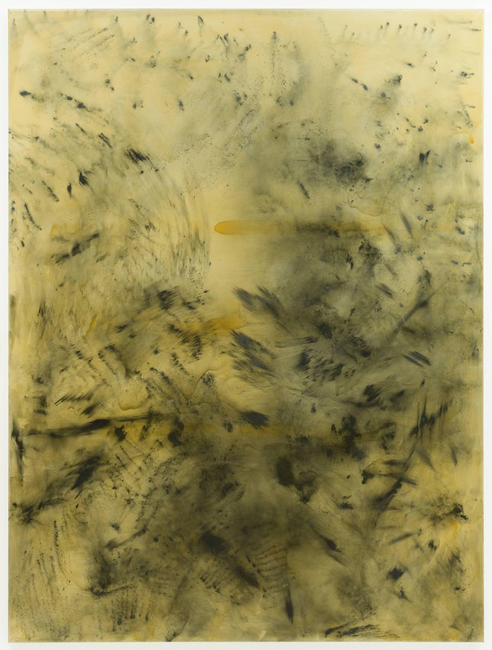 Sigmar Polke, The Spirits That Lend Strength Are Invisible I (Tellurium Terrestrial Material), 1988