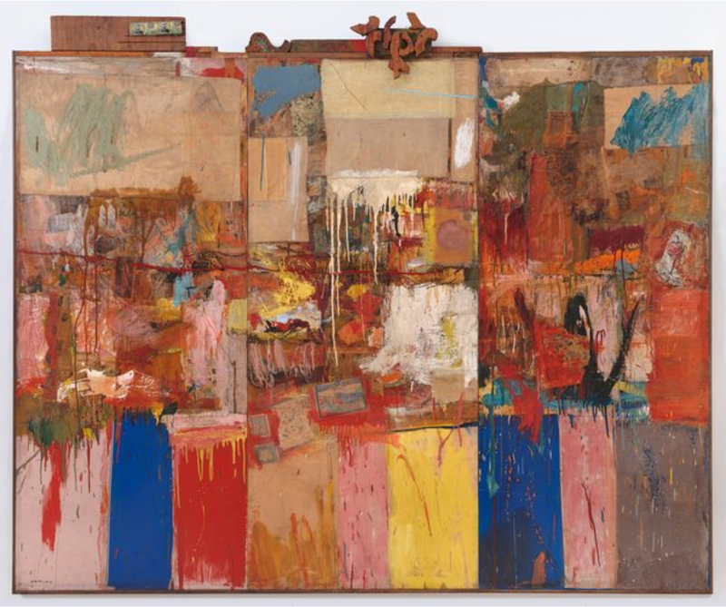 Robert Rauschenberg, Collection, 1954/1955