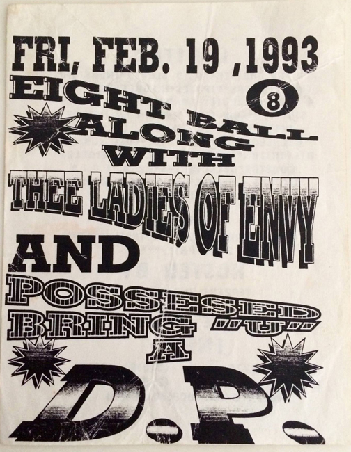 Party flyer for a ditching party in Los Angeles, 1993. Courtesy Guadalupe Rosales.
