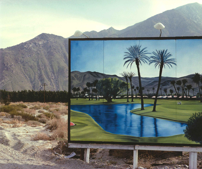 A photograph by Robert Landau in Doug Aitken's The Idea of the West, 2010. Courtesy The Museum of Contemporary Art, Los Angeles.