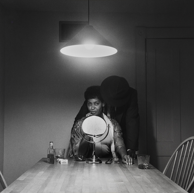 Carrie Mae Weems, Untitled (Man and Mirror), from the series Untitled (Kitchen Table Series), 1990