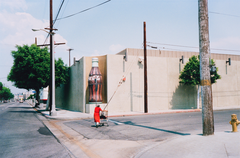 John Harding, Los Angeles, California, Alameda Street, from the portfolio Analog Days, 1988, printed 2013