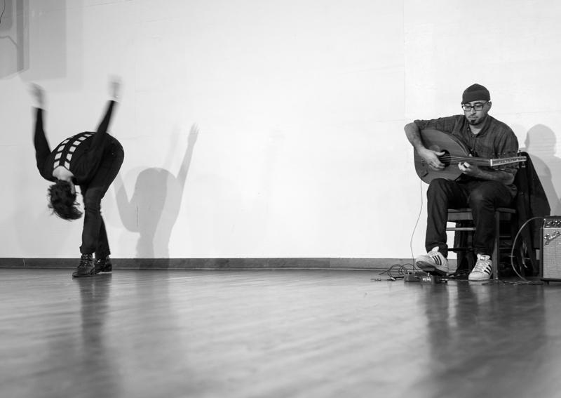 From an Arab Avant Music Programme performance, 2017. Photo: Ricardo Esway.