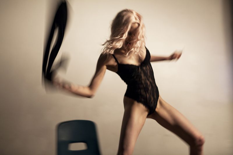 Valérie Reding in <em>wild child</em>. Photo by Lukas Beyeler.