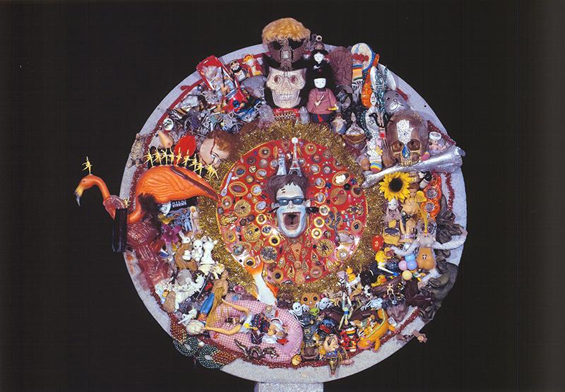 Jamie Holley, <em>Untitled</em>, 2006–2009; mixed-media assemblage.