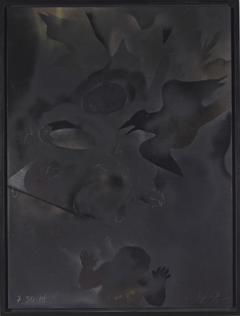 Oliver Lee Jackson, Painting No. 6, 2014
