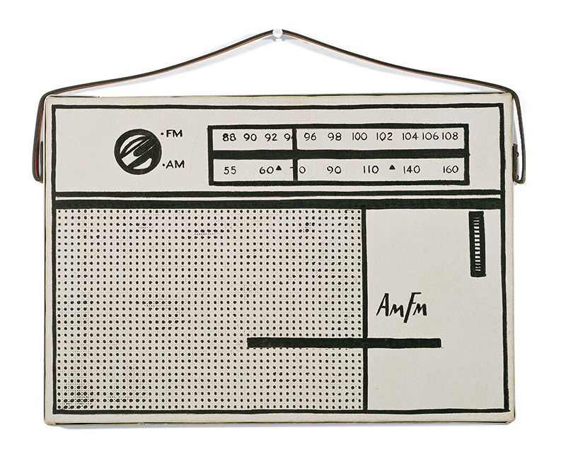 Roy Lichtenstein, Portable Radio, 1962