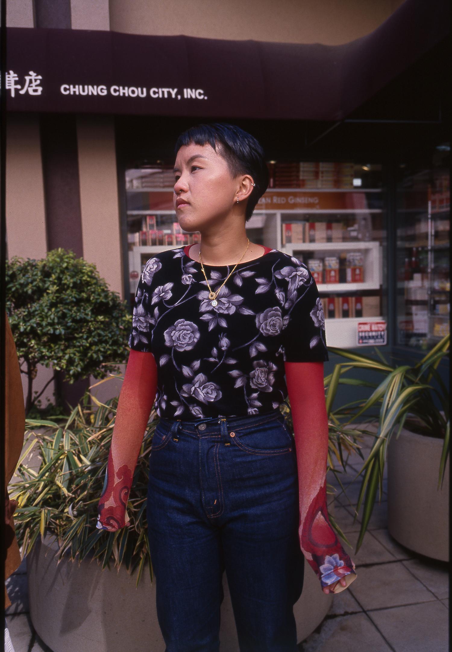 Rene; Oakland Chinatown Mall.