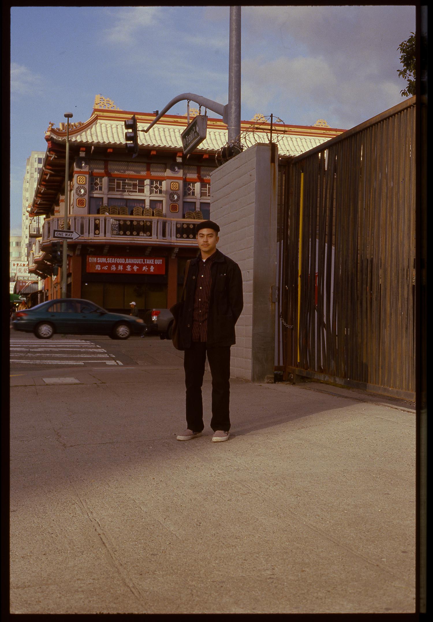 Darren; Chinatown, Oakland.