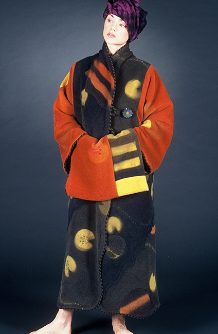 Jean Cacicedo, Lotus Coat, 2000
