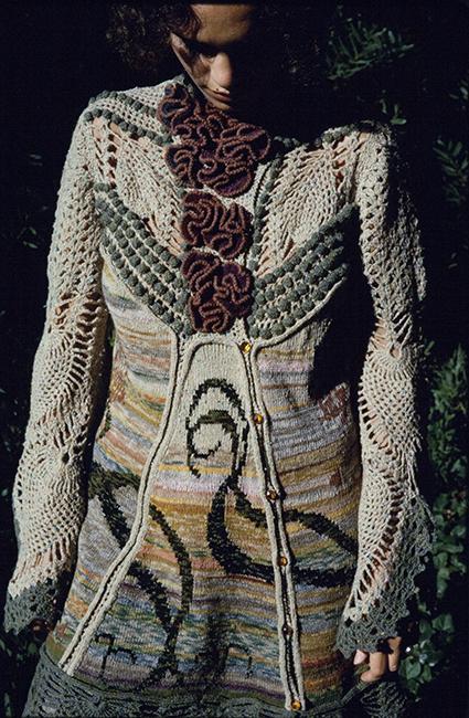 Marika Contompasis, Herbal Dress, 1971