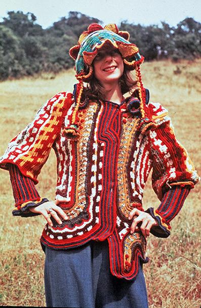 Janet Lipkin, Crochet Coat, 1973