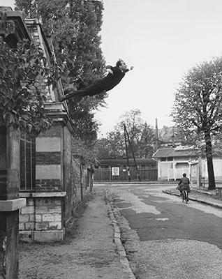 Yves Klein, Saut dans le vide, 1960