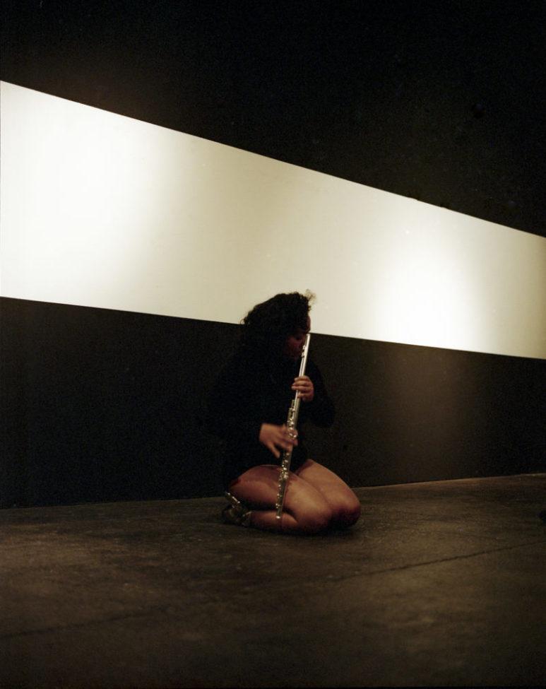 Sarah Cargill performing TITLE OF WORK.