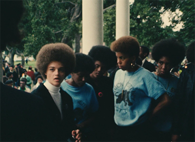A still from Black Panthers, 1968.