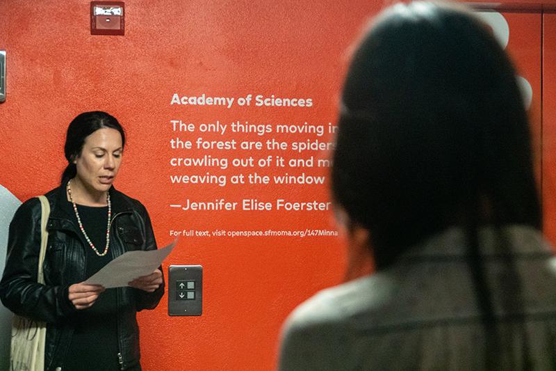 Jennifer Elise Foerster, Academy of Sciences