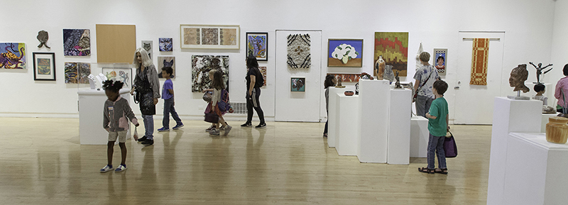 The Richmond Art Center offers tours for local groups that offer students K-12 a hands-on art activity in response to current exhibitions.